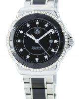 Tag Heuer Formula 1 Quartz Diamond Accent Swiss Made 200M WAH1312.BA0867 Women's Watch