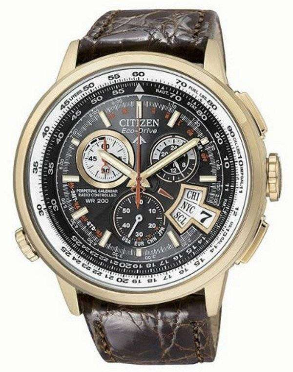 4e8235c1a Citizen Eco Drive Chronograph Alarm BY0003-07E BY0003 Limited Edition  Atomic Men's Watch
