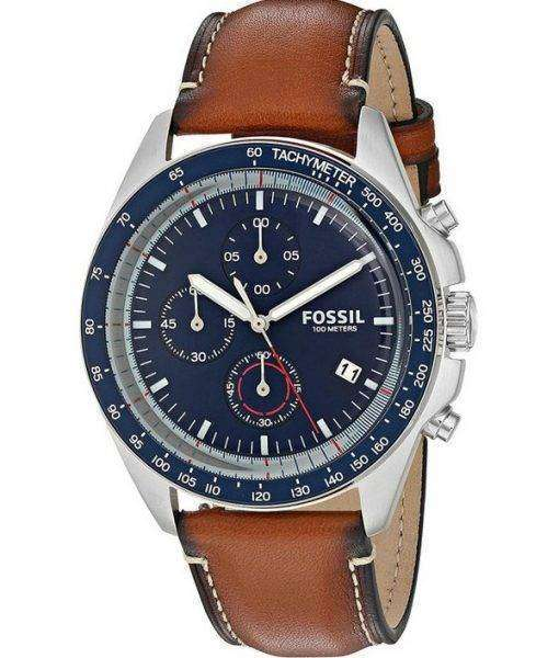 Fossil Sport 54 Chronograph Quartz Tachymeter CH3039 Men's Watch 1