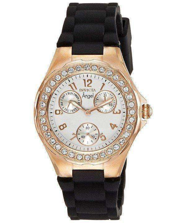 Invicta Angel Quartz Crystal Accent 1645 Women's Watch