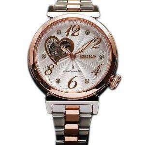 Seiko Lukia Automatic Swarovski Crystal Japan Made SSVM022 Womens Watch