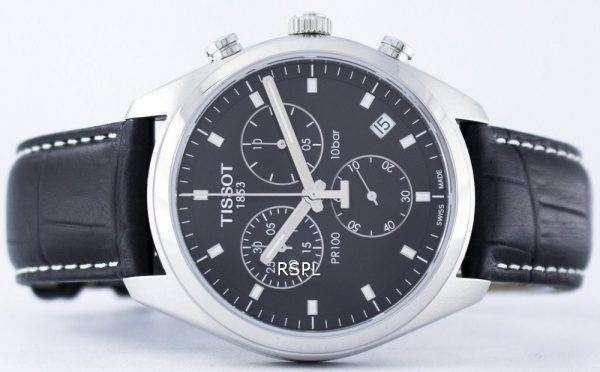 Tissot T-Classic PR100 Quartz Chronograph T101.417.16.051.00 T1014171605100 Men's Watch