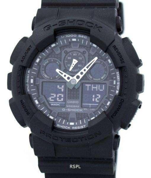 Casio G-Shock Military Matte Black GA-100-1A1 Mens Watch 1