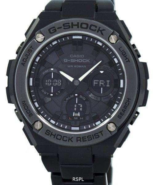 Casio G-Shock G-STEEL Analog-Digital World Time GST-S110BD-1B Men's Watch 1