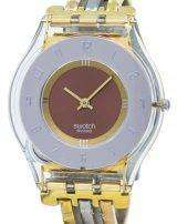 Swatch Skin Tri Gold Quartz SFK240B Women's Watch