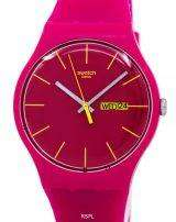 Swatch Originals Rubine Rebel Quartz SUOR704 Unisex Watch
