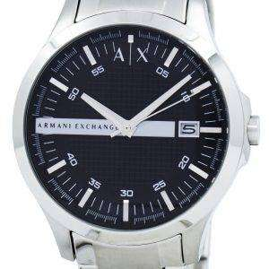 Armani Exchange Black Dial Stainless Steel AX2103 Mens Watch