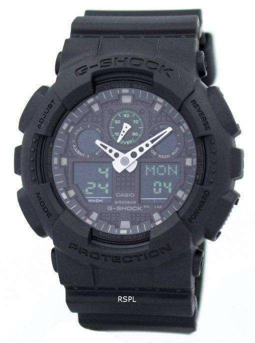 Casio G-Shock Analog Digital GA-100MB-1A Men's Watch