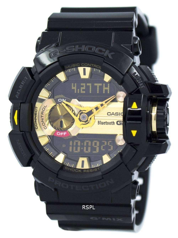 Casio G-Shock GMIX Bluetooth Smart World Time Analog ...