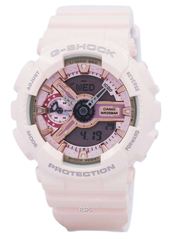 12e56288996dd Casio G-Shock S Series Analog-Digital 200M GMA-S110MP-4A1 Women s ...