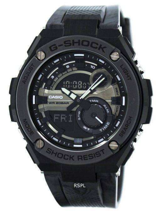 Casio G-Shock G-Steel Analog-Digital World Time GST-210M-1A Men's Watch
