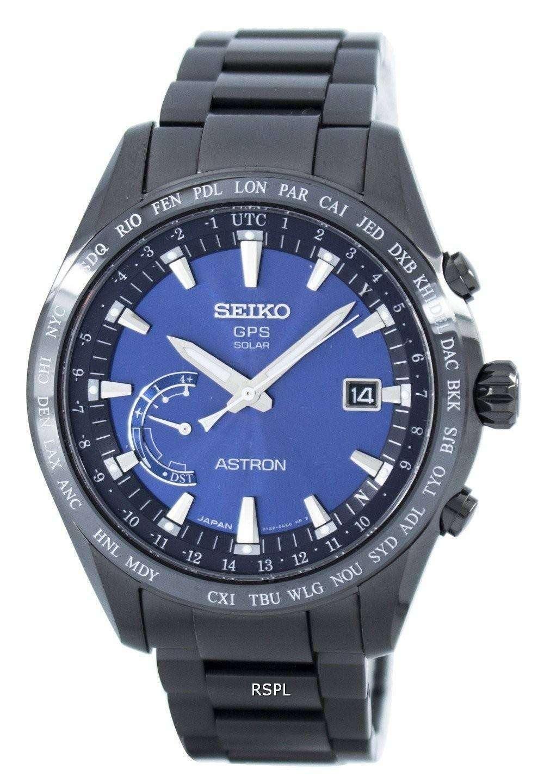Seiko Astron Titanium GPS Solar World Time Japan Made ...