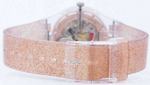 Swatch Originals Pink Glistar Quartz SUOK703 Unisex Watch