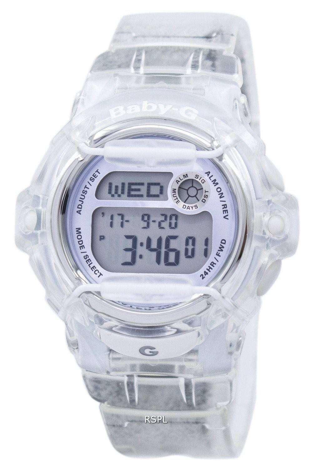 Casio Baby-G Shock Resistant Digital World Time Quartz BG-169R-7E Women s 1742f7ed66