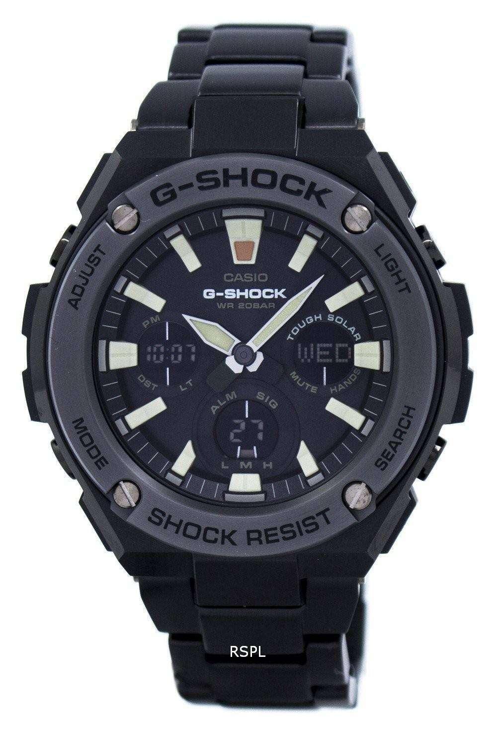 Casio G Shock Tough Solar Shock Resistant Gst S130bd 1a