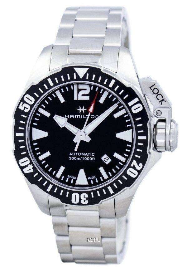 Hamilton Khaki Navy Frogman Automatic H77605135 Men's Watch