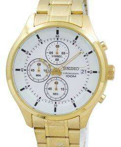 Seiko Chronograph Quartz SKS544 SKS544P1 SKS544P Men's Watch