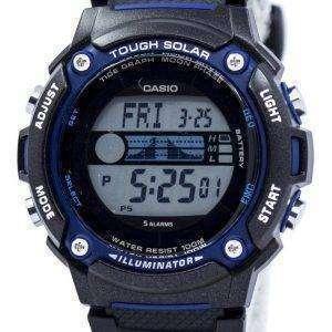Casio Tough Solar Illuminator Tide Graph Moon Phase Digital W-S210H-1AV Men's Watch