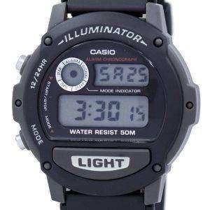 Casio Sports Illuminator Alarm Chronograph Digital W87H-1V Men's Watch