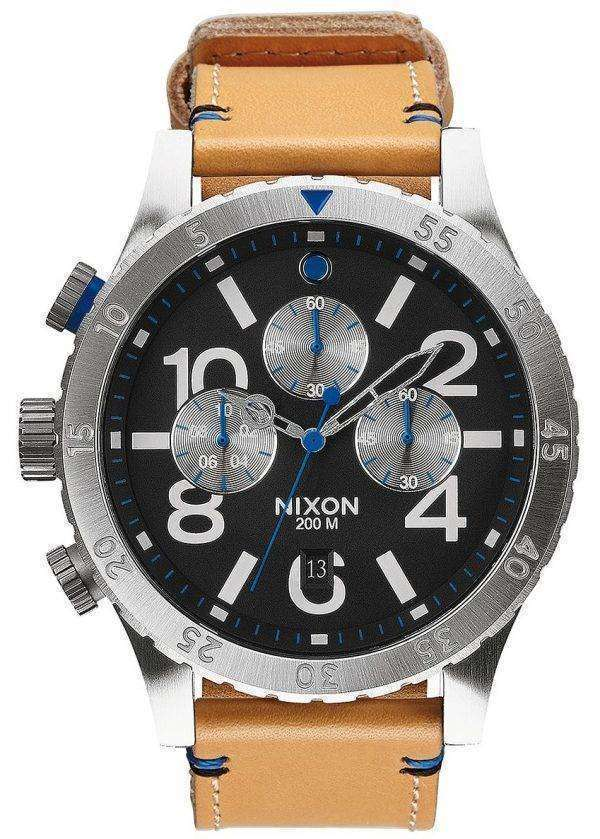 Nixon 48-20 Chrono Quartz A363-1602-00 Men's Watch