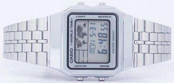 Casio Alarm World Time Digital A500WA-7DF Men's Watch
