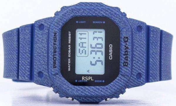 Casio Baby-G Denim'd Alarm Digital 200M BGD-560DE-2 Women's Watch