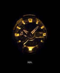 Casio G-Shock Shock Resistant World Time Alarm Analog Digital GA-110TX-1A Men's Watch