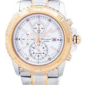 Seiko Chronograph Alarm Quartz SNAE08 SNAE08P1 SNAE08P Men's Watch