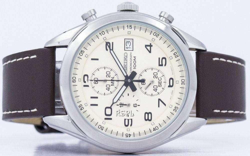 Seiko Ssb273p Men's Watch Chronograph Quartz Ssb273 Ssb273p1 TlF3K1Jc