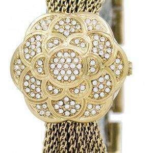 Anne Klein Quartz Swarovski Crystal Multi Chain 1046CHCV Women's Watch