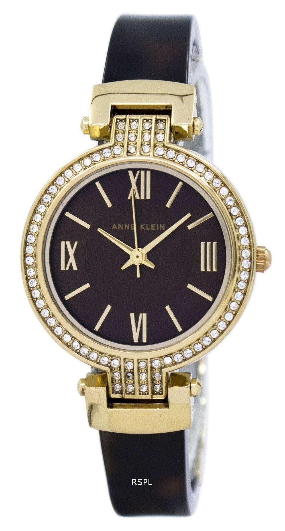 Anne klein quartz swarovski crystal 2894bnto women 39 s watch for Anne klein swarovski crystals