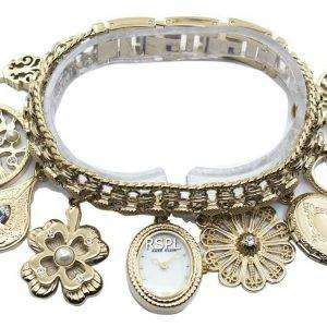 Anne Klein Quartz Swarovski Crystal 8096CHRM Women's Watch