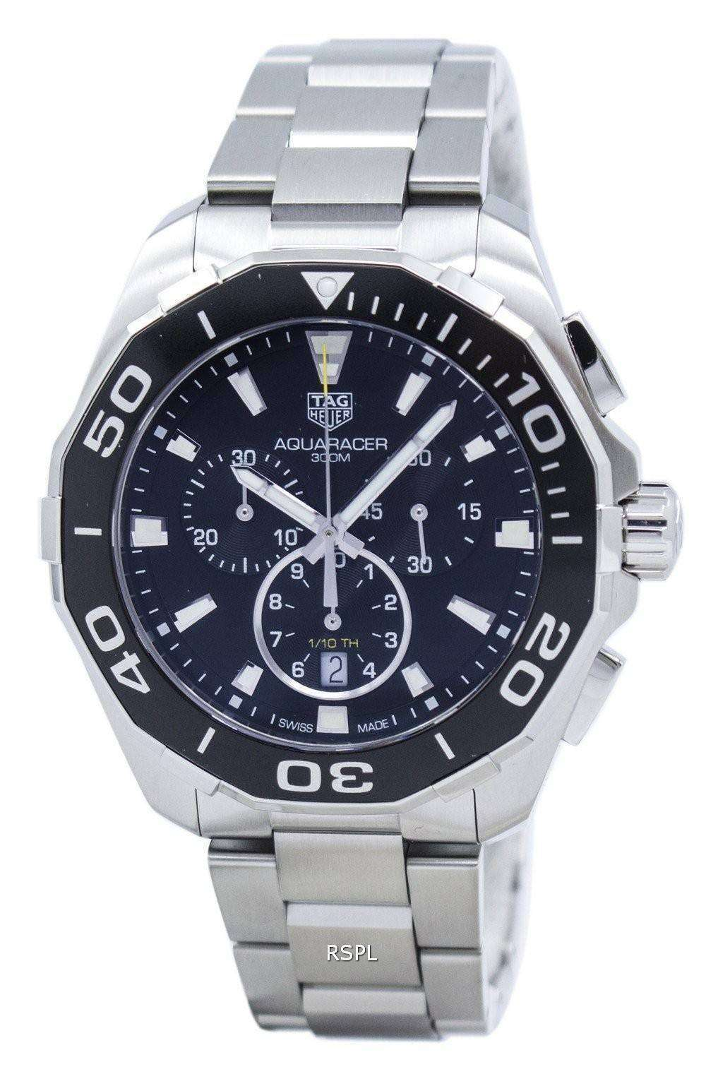 Tag Heuer Aquaracer Chronograph Quartz CAY111A.BA0927 Men ...