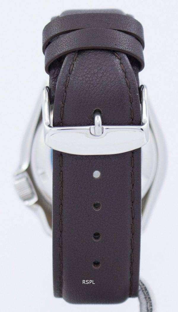 Seiko Automatic Diver's 200M Ratio Dark Brown Leather SKX007K1-LS11 Men's Watch