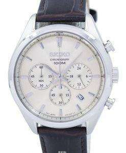Seiko Classic Chronograph Quartz SSB293 SSB293P1 SSB293P Men's Watch