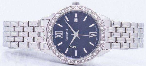 Seiko Quartz Diamond Accent SUR691 SUR691P1 SUR691P Women's Watch