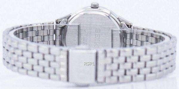 Seiko Quartz Diamond Accent SUR695 SUR695P1 SUR695P Women's Watch