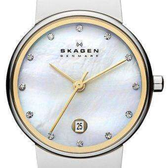 Skagen Ancher Quartz Diamond Accent 355SSGS Women's Watch