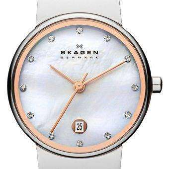 Skagen Ancher Quartz Diamonds Accent 355SSRS Women's Watch