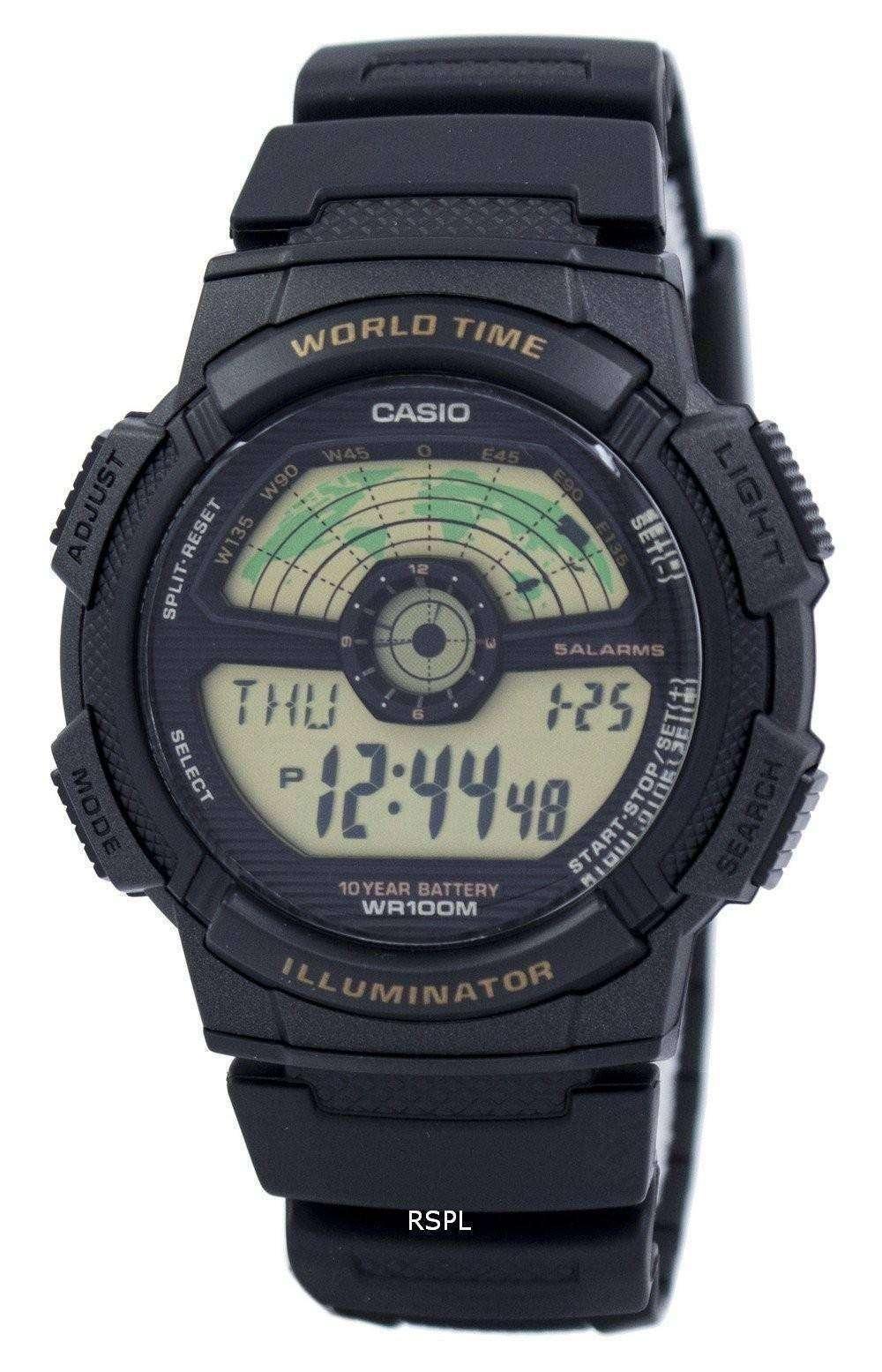 Casio youth illuminator world time world map ae 1100w 1bv ae1100w casio youth illuminator world time world map ae 1100w 1bv ae1100w 1bv mens gumiabroncs Gallery