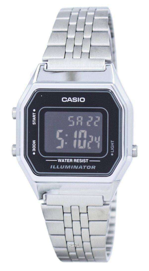 Casio Vintage Illuminator Alarm Digital LA680WA-1BDF Women's Watch
