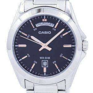 Casio Analog Quartz MTP-1370D-1A2V MTP1370D-1A2V Men's Watch