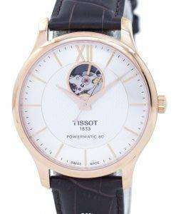 Tissot T-Classic Tradition Open Heart Automatic T063.907.36.038.00 T0639073603800 Men's Watch