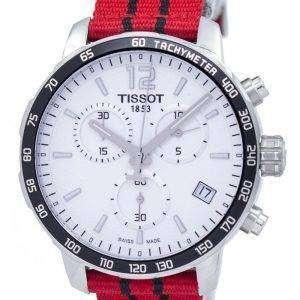Tissot Quickster NBA Chicago Bulls Chronograph T095.417.17.037.04 T0954171703704 Men's Watch