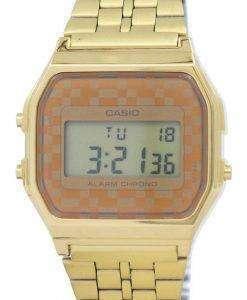 Casio Vintage Chronograph Alarm Digital A159WGEA-9A Men's Watch