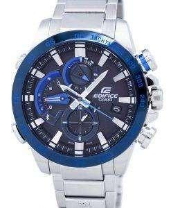 Casio Edifice Smartphone Link Dual Time Tough Solar EQB-800DB-1A EQB800DB-1A Men's Watch