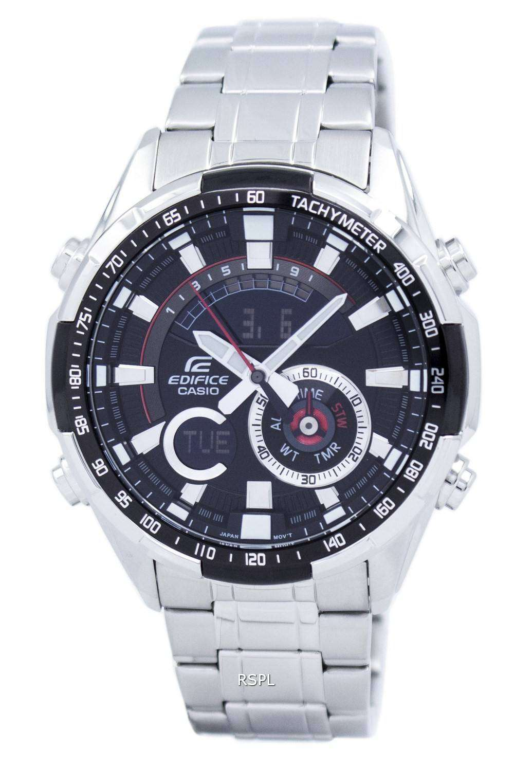 9f4444b15b50 Casio Edifice Chronograph Analog Digital ERA-600D-1AV ERA600D-1AV Men s  Watch