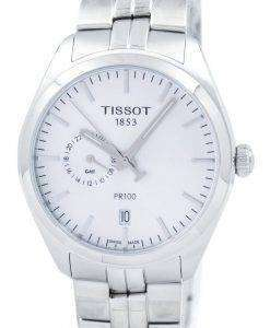 Tissot T-Classic PR 100 Dual Time Quartz T101.452.11.031.00 T1014521103100 Men's Watch