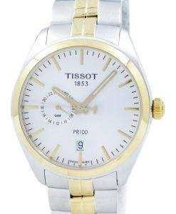 Tissot T-Classic PR 100 Dual Time Quartz T101.452.22.031.00 T1014522203100 Men's Watch