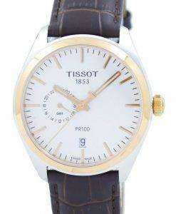 Tissot T-Classic PR 100 Dual Time Quartz T101.452.26.031.00 T1014522603100 Men's Watch